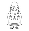 Nativity wise man cartoon