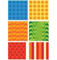 volumetric wallpaper vector image vector image