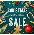 Christmas Fair poster vector image vector image