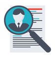 Human Resource Concept vector image vector image