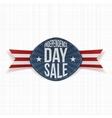 Independence Day Sale scratched Label vector image vector image