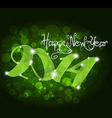 New year abstract background vector image vector image