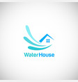 water house logo vector image