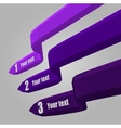 3D infografic Colorful vector image vector image
