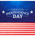american independence day background vector image vector image