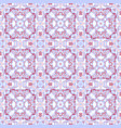 blue and pink seamless pattern vector image