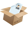 Business symbols in box - 05 vector image vector image