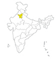 haryana vector image vector image