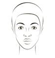 Girl fashion vector image vector image