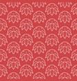 seamless pattern japanese style sashiko vector image vector image