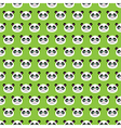 smiling pandas vector image