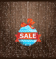 winter holidays shopping vector image vector image
