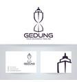 building logo design vector image vector image