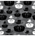 Icon spy secret agent seamless background vector image