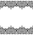 Monochrome ornament vector image
