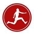 sports sign icon vector image vector image