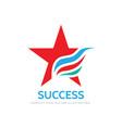 success - logo concept vector image