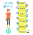 Fitness Infographics vector image