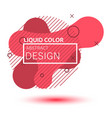 gradient geometric banners vector image vector image