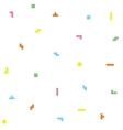 Retro game geometric pattern vector image vector image