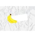 ripe bananas vector image vector image