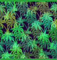tropical palms seamless vector image
