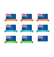 Tour to New Zealand vector image