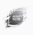 abstract splash grey vector image vector image