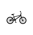 bicycle symbol vector image vector image