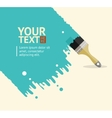 brush background vector image vector image