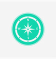 compass icon sign symbol vector image vector image