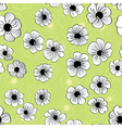 Flower seamless pattern floral background vector image vector image