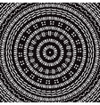 Hand drawn Circular pattern Mandala vector image vector image