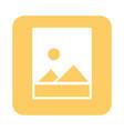mobile application image gallery web button menu vector image