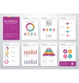 Modern infographic concept vector image vector image