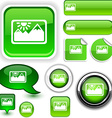 Picture green signs vector image vector image