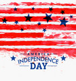 american independence day background with grunge vector image vector image