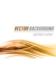 background orange bottom vector image