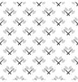 battle axes seamless pattern