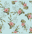 botanical background wallpaper hand drawn vector image