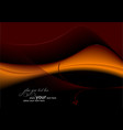 deep-red-orange abstract wave background vector image vector image
