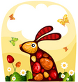 Easter card vector | Price: 3 Credits (USD $3)