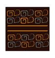 ethnic handmade ornament tribal decoration layout vector image vector image