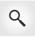 Search icon flat design vector image