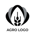 agro logo for your company black and white
