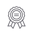 award line icon sign on vector image vector image