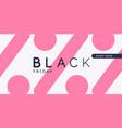 black friday big sales bright abstract vector image vector image