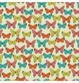 Butterflies Beautiful background with a flower vector image