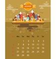 Calendar of november vector image