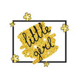gold princess party decor gold princess party vector image